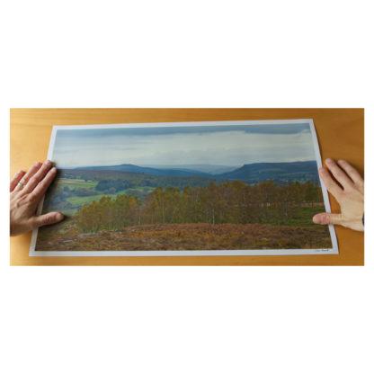 Autumnal Derwent Valley Print