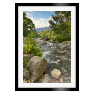 143_Ashness_Bridge_Sunlight_Portrait_Framed