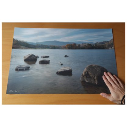 Autumnal Rydal Water Tranquillity Print