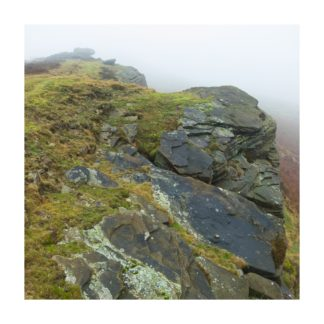 Stanage Edge Detail Square