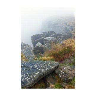 Stanage Edge Mist
