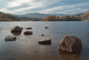 Autumnal Rydal Water Tranquillity