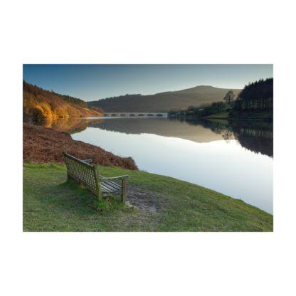 Ladybower Reflection Sunset