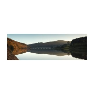 Ladybower Sunset Panoramic