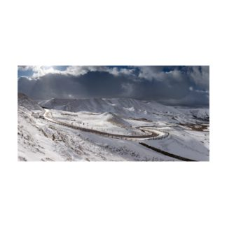Rushup Edge Snow Panoramic