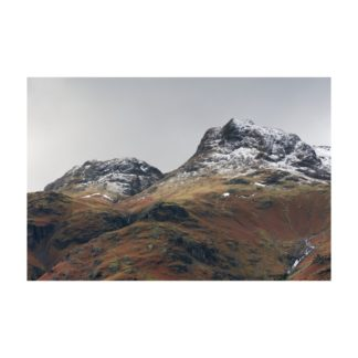 Langdale Pikes Snow Detail