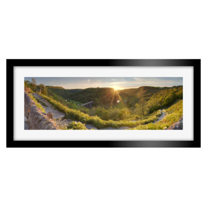 Monsal Head Sunset Panoramic