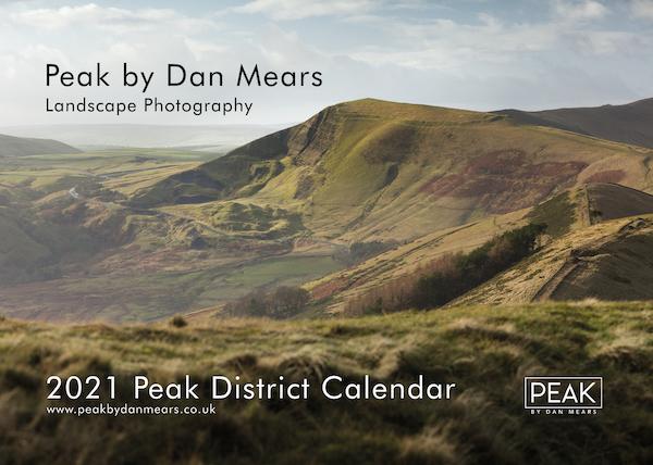 2021 Peak District Calendar Cover