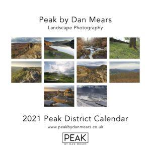2021 Peak District Calendar Images