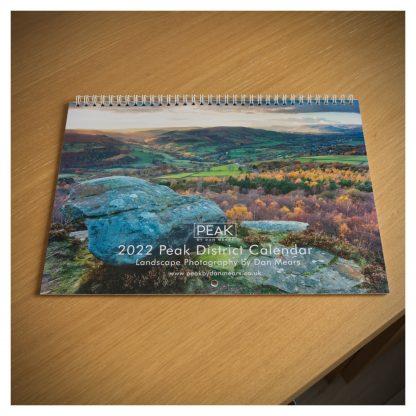 2022 Peak District Calendar Cover