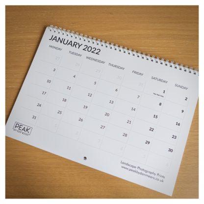 2022 Peak District Calendar January