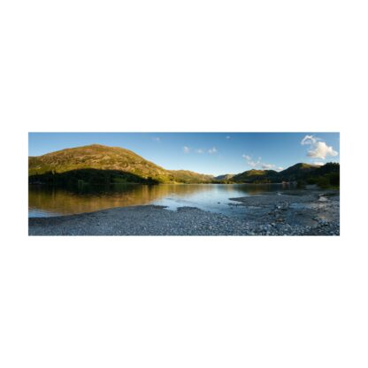 Place Fell Sunset Panoramic