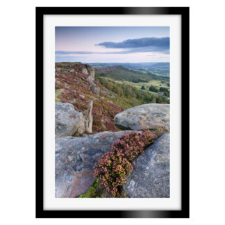 Curbar Edge Twilight Portrait
