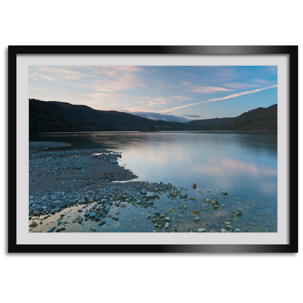 Ullswater Twilight Framed