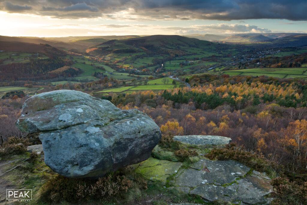 Autumnal Millstone Edge View