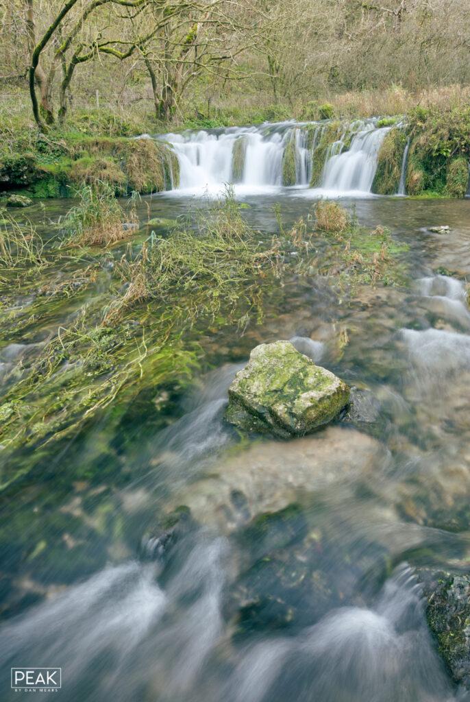 Lathkill Dale River Waterfall Portrait