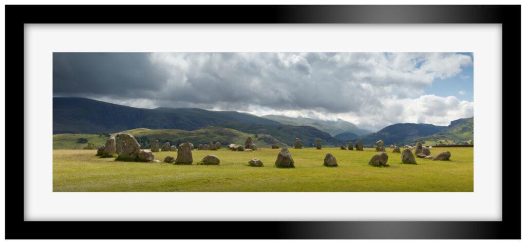 Castlerigg Stone Circle Panoramic