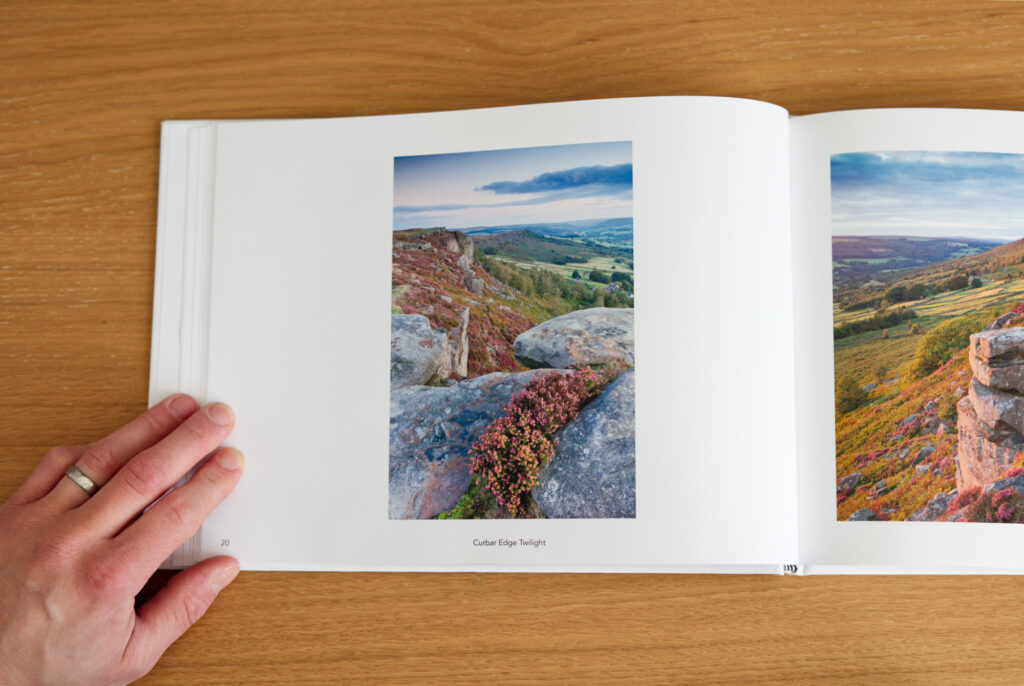 Peak District Collection - Curbar Edge Twilight Page