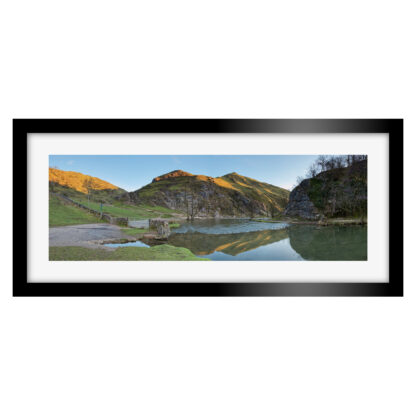 Dovedale Sunset Panoramic